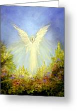 Angel's Garden Greeting Card