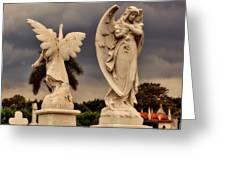 Angels In Havana Greeting Card