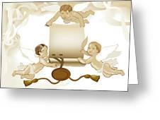 Angels Invitation Greeting Card