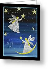 Angels, Joy, Lucky Stars Greeting Card