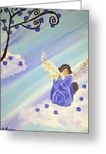 Angel's Melody  Greeting Card