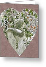 Angels Of The Snow  B Greeting Card