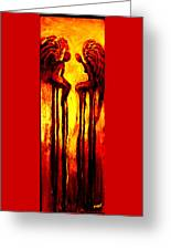 Angels Talk Greeting Card