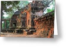 Angkor Wat Ruins - Siem Reap, Cambodia Greeting Card