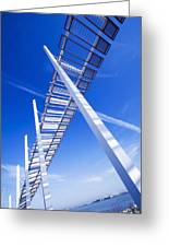 Angle View Greeting Card