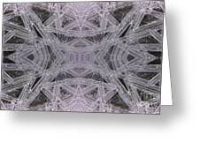 Angles In Ice On Monadnock - A1 Greeting Card