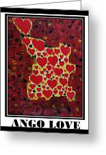 Ango Love Greeting Card