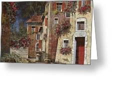 Angolo Buio Greeting Card by Guido Borelli