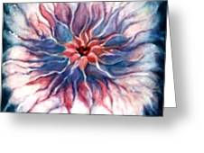 Angora Bloom Greeting Card