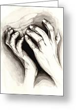 Anguish #2 Greeting Card