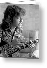 Angus Young Ac/dc Greeting Card