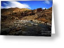 Animas Forks Colorado Greeting Card