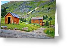 Animas Forks Ghost Town Greeting Card