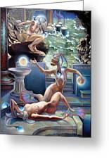 Animus Dimensio Temporum Greeting Card