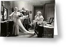 Anita Page Marian Marsh Under 18 1931 Greeting Card