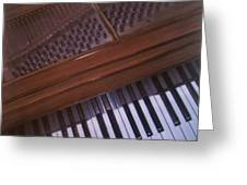 Anita's Piano 1 Greeting Card