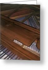 Anita's Piano 2 Greeting Card