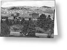 Ankara - Bw Greeting Card