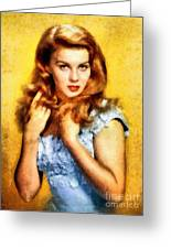 Ann-margert, Vintage Hollywood Actress Greeting Card