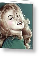 Ann Margret, Patio Diet Cola, Bye, Bye Birdie, Sterling Cooper Pryce, Mad Men Greeting Card