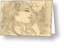 Anna Held Greeting Card