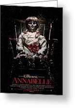 Annabelle 2014 Greeting Card