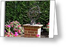 Annapolis Garden Ornament Greeting Card