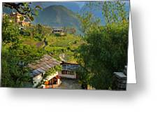 Annapurna Village Greeting Card