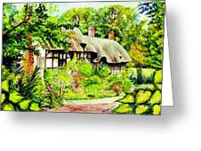 Anne Hathaways Cottage  Greeting Card