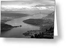 Annecy Lake Greeting Card