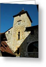 Annecy Tower Greeting Card