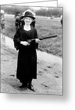 Annie Oakley, American Folk Hero Greeting Card