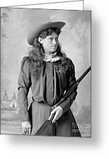 Annie Oakley Greeting Card