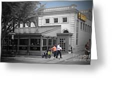 Annies Paramount Steak House Greeting Card