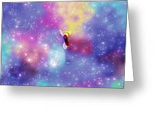 Anomaly In Space Greeting Card