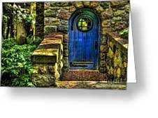 Another Blue Door Greeting Card