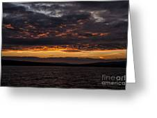 Another Colourful Sunrise Greeting Card
