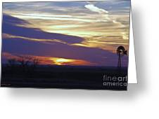 Another Day Is Gone Greeting Card