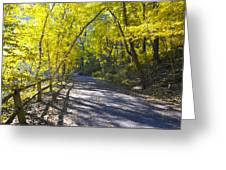 Another Fall In Philadelphia Greeting Card