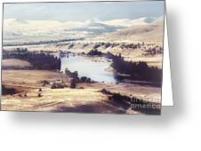 Another Flathead River Image Greeting Card