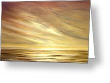 Another Golden Sunset Greeting Card