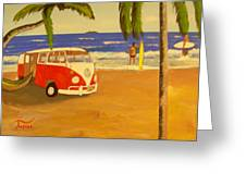 Another Groovy Beach Weekend Greeting Card