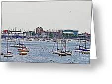 Another Harbor View Greeting Card