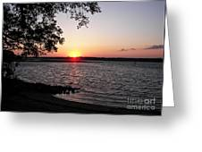 Another Hilton Head Sunset Greeting Card