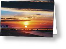 Another Island Morning Greeting Card