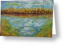 Another Lake. Greeting Card