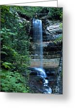 Another Munsing Waterfall Greeting Card