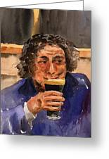 A Pint Please... Next Time. Greeting Card