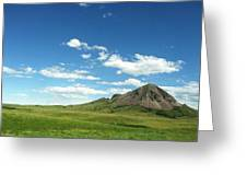 Another Side Of Bear Butte Greeting Card