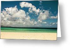 Anguilla - Another Spectacular Beach  Greeting Card